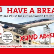 Have a break von Sozialdemokratischer Wirtschaftsverband zum Thema Pausen- und Pausenraeume